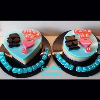 Rainbow Jelly Cakes