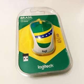 Logitech巴西無線滑鼠Mouse