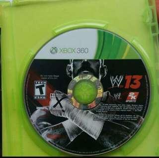 🚚 Xbox 360 game wwe
