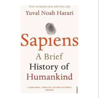 [Instock] Sapiens: A brief history of humankind by Yuval Noah Harari