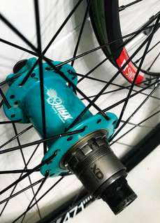 650B wheelset