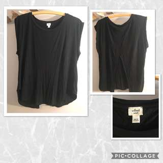 Aritzia Wilfred Open Back T-Shirt - XS