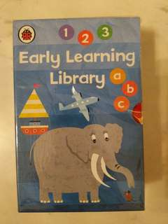 Ladybird Early Learning Library- 7 books