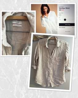Aritzia Community Veritas Shirt - XXS