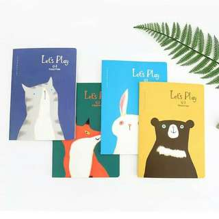 [PO] Lets Play Together Ruled Pocket Notes
