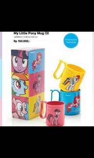 Mug little pony tupperware