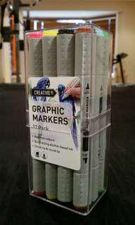 Graphic Markers Set