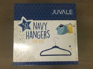 Juvale 50pcs Ultra Thin No Slip Velvet Hangers for kids