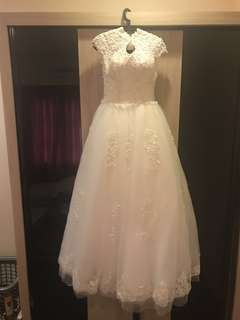 BRAND NEW** Classic bareback Princess Lacey Bridal Gown
