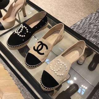 🚚 《全新正品》Chanel經典漁夫鞋