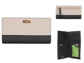 Kate Spade New York Laurel Way Stacy Saffiano Leather Wallet