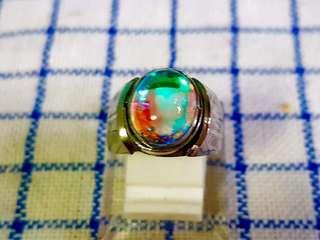 Batu rainbow kalimaya opal