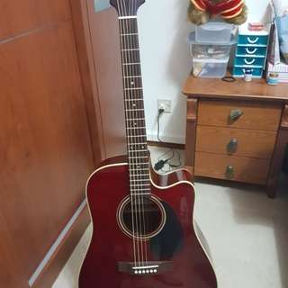 Takamine Acoustic Guitar with case