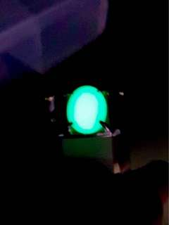 BATU SARANG ULAR@ FOSFOR. Glow In The Dark