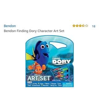 Bendon Finding Dory Character Art Set
