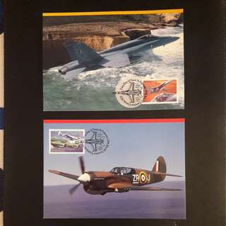 Australian 1996 Postcard with stamps