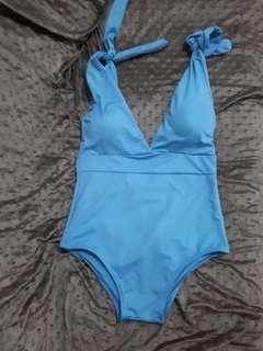 One piece swimwear (in teal)