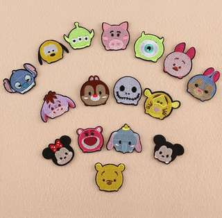 Tsum Tsum iron-on patch