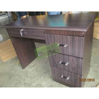 MAHOGANY FREESTANDING TABLES--KHOMI