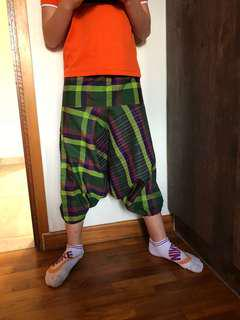Cute kids pants in traditional prints - suitable for 4-5 year olds