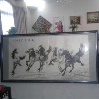 Huge Horse Ink Painting