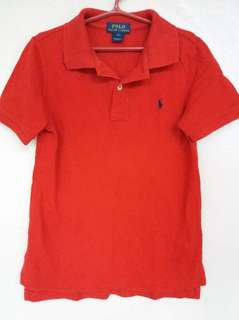 POLO by Ralph Lauren red poloshirt for boys