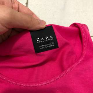 Tshirt zara and Top man ORI