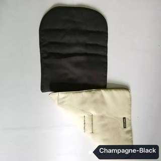🚚 Brand NEW Original Maclaren Reversible Seat Liner in Champagne & Black!