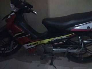 Jual motor smash th 2003 plat L