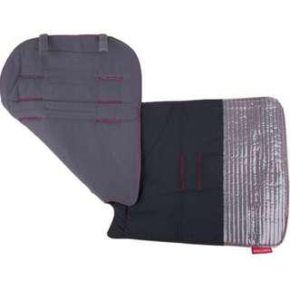 Brand NEW Original Maclaren Reversible Seat Liner in Oxford Black / Charcoal!