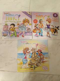 New Fancy Nancy Books with stickers/ lift flap