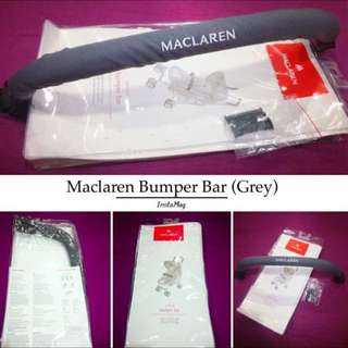 Brand NEW Original Maclaren Universal Bumper/Front Bar in Grey (foldable)!