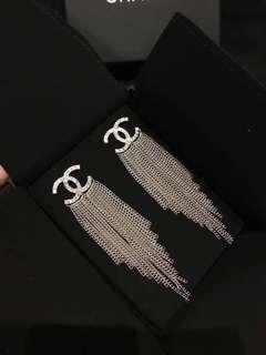 Chanel 2018 新款流蘇耳環