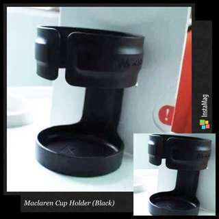 Brand New Original Maclaren Cup Holder in Black!