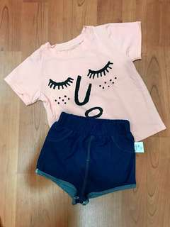 Baby girl Set of casual