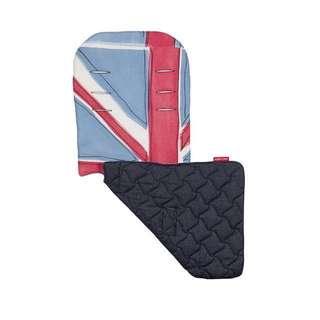 Limited Edition Brand NEW Maclaren Reversible Seat Liner in Union Jack - Princess Blue/Indigo Denim!