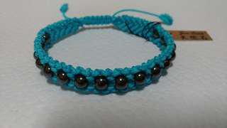 天然磁石編織手環