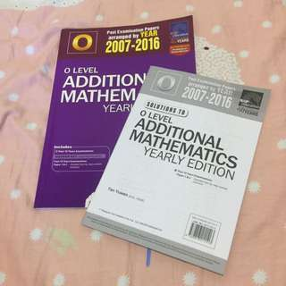 O Level Additional Mathematics Yearly Edition