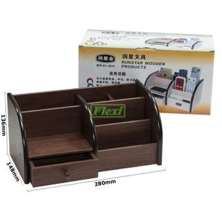 Wooden Desk Caddy