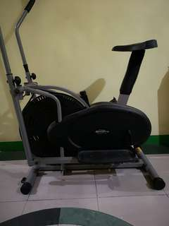 Stationary Bike (Elliptical Cross Trainer and Exercise Bike)