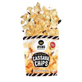 IRVINS Salted Egg - CASSAVA CHIPS (Big)