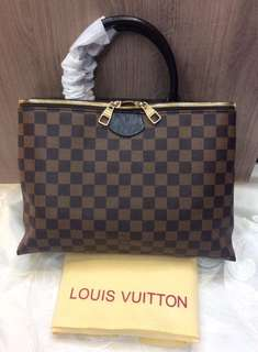 Lv Damier Double Compartment