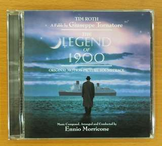 """Soundtrack CD: """"The Legend of 1900"""" composed and conducted by Ennio Morricone"""