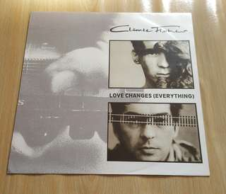 Love Changes (Everthing) - Climie Fisher (12'Single Vinyl Record)