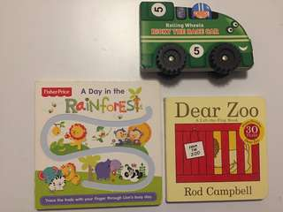 Books (suitable for baby/toddler)