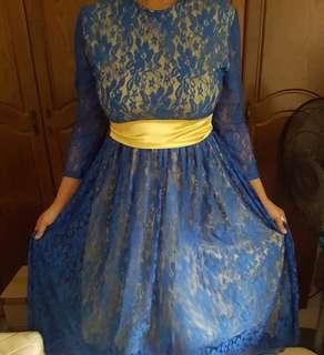 Instock last piece long dress
