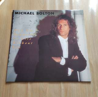 How am I supposed to Live Without You - Michael Bolton ( 12'Single Vinyl Record)