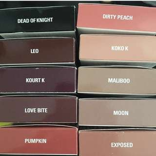 Authentic Kylie Cosmetics Lip Kits