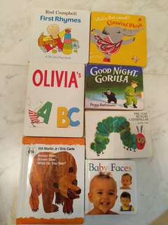 Preloved Toddler Board Books