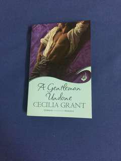 English Novel : A Gentleman Undone